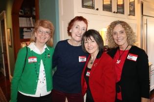 Kathy Swendiman, Barbara Clare, Daphne McLeod, & Maggie Conger