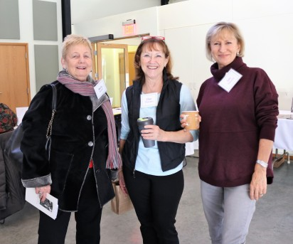 Marty Hunter, Char Thomann, Gill Roberts