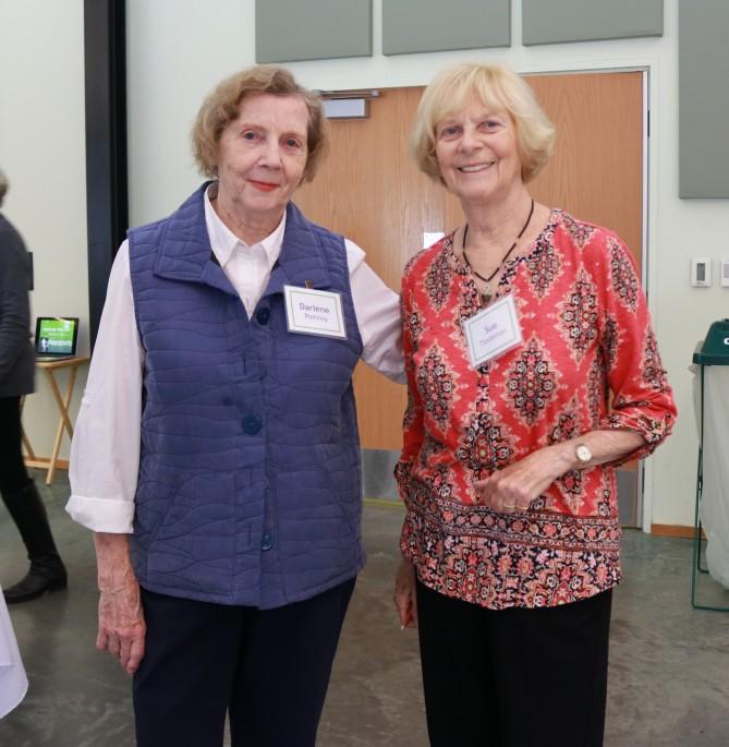 Darlene Pomroy , Sue Tiedeman